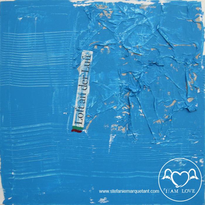 Serie »3 farben«: Blau
