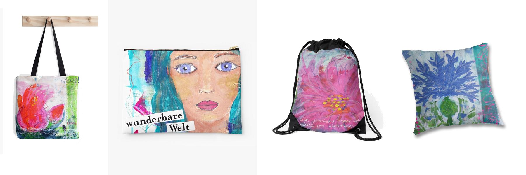 Taschen und Kissen Stefanie Marquetant